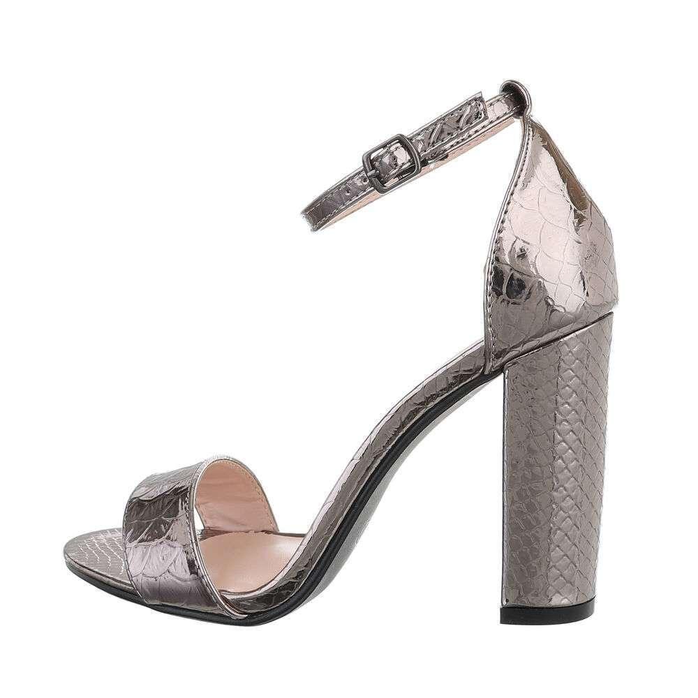 Sandale de dama - negre - image 1