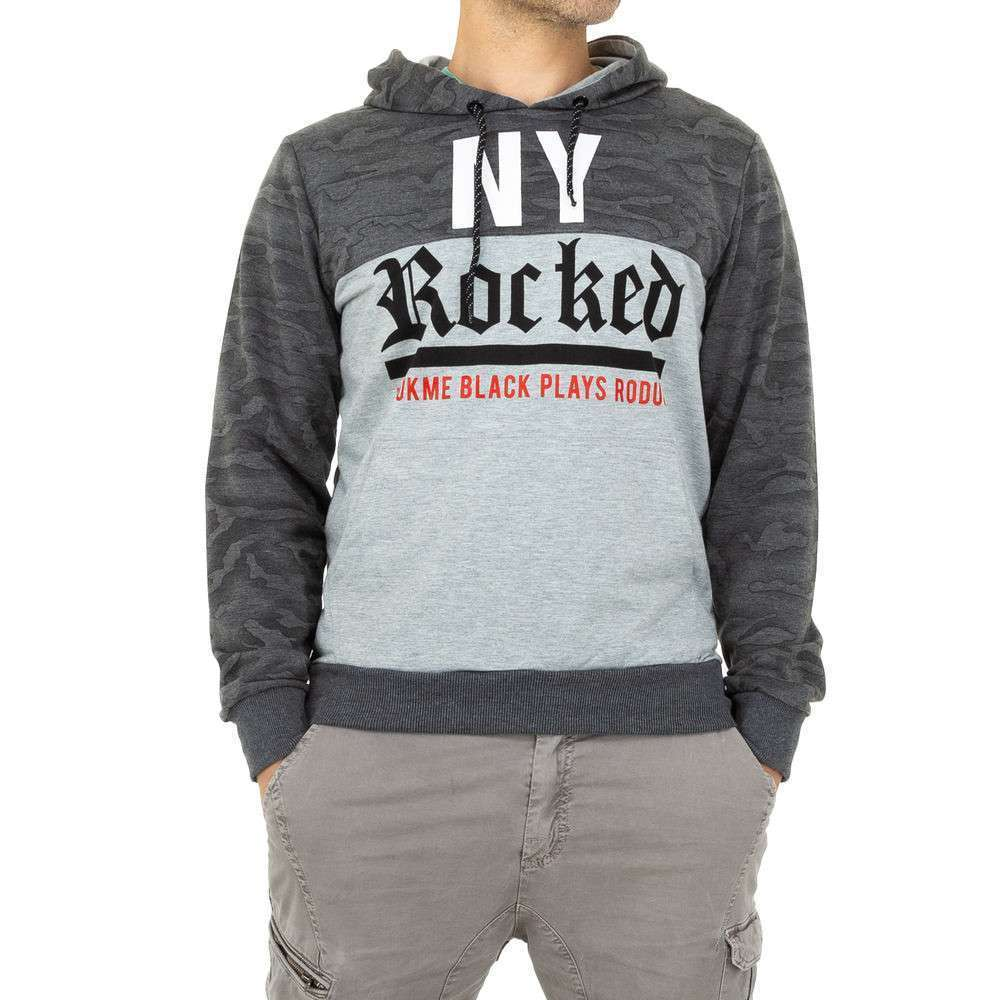 Мужской свитер Black Eagle - серый