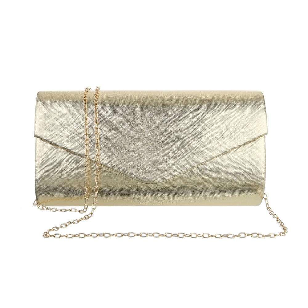 Poșetă pentru femei - deschis aurii