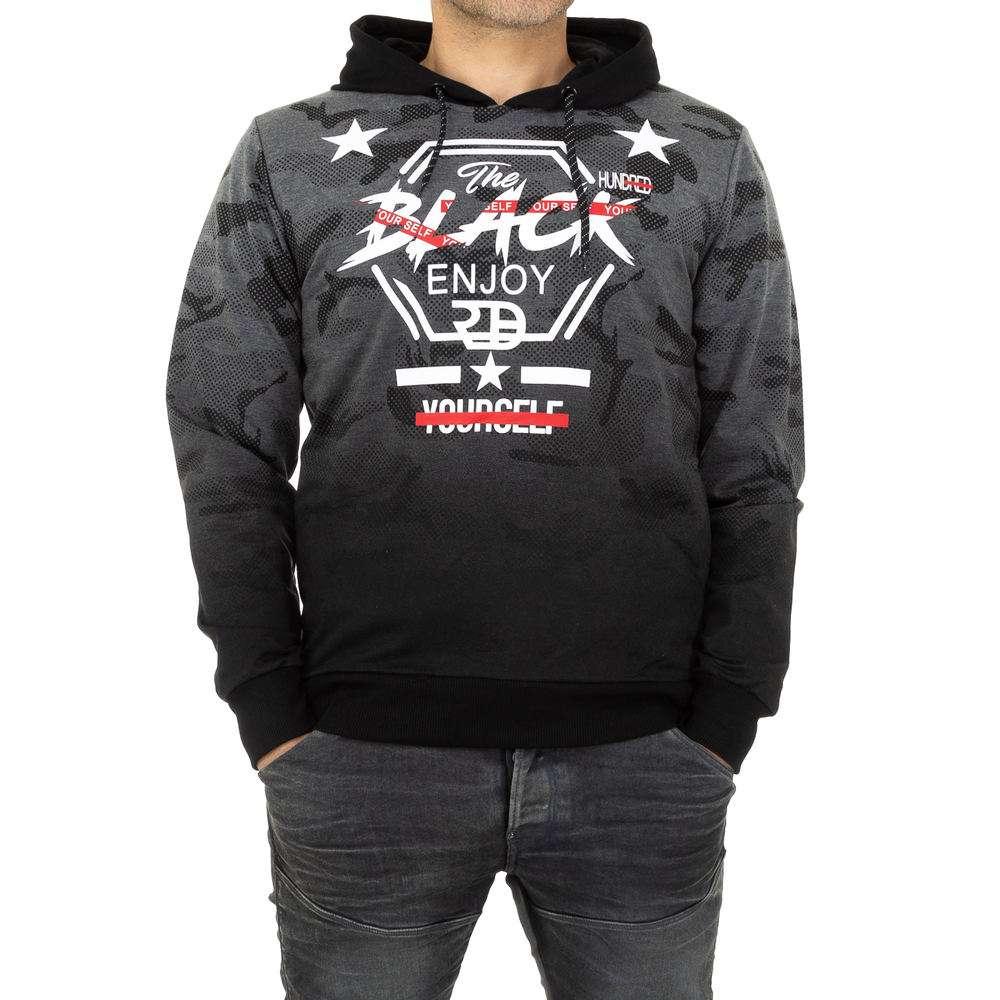 Pulover pentru bărbați de Black Eagle - DK.grey