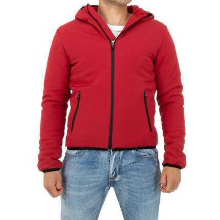 Herren Jacke von Play Back - red