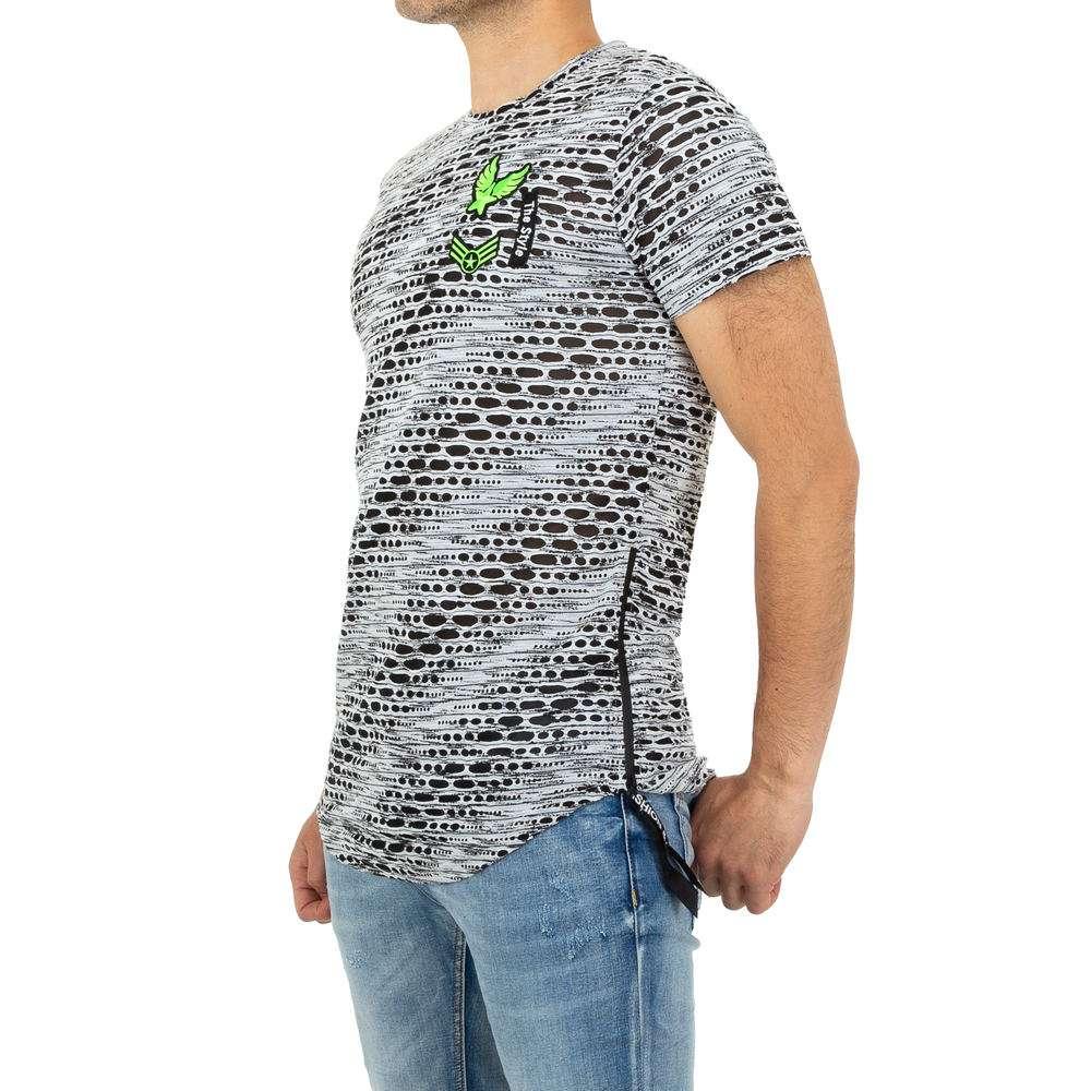 Tricou bărbătesc de la Nature - alb