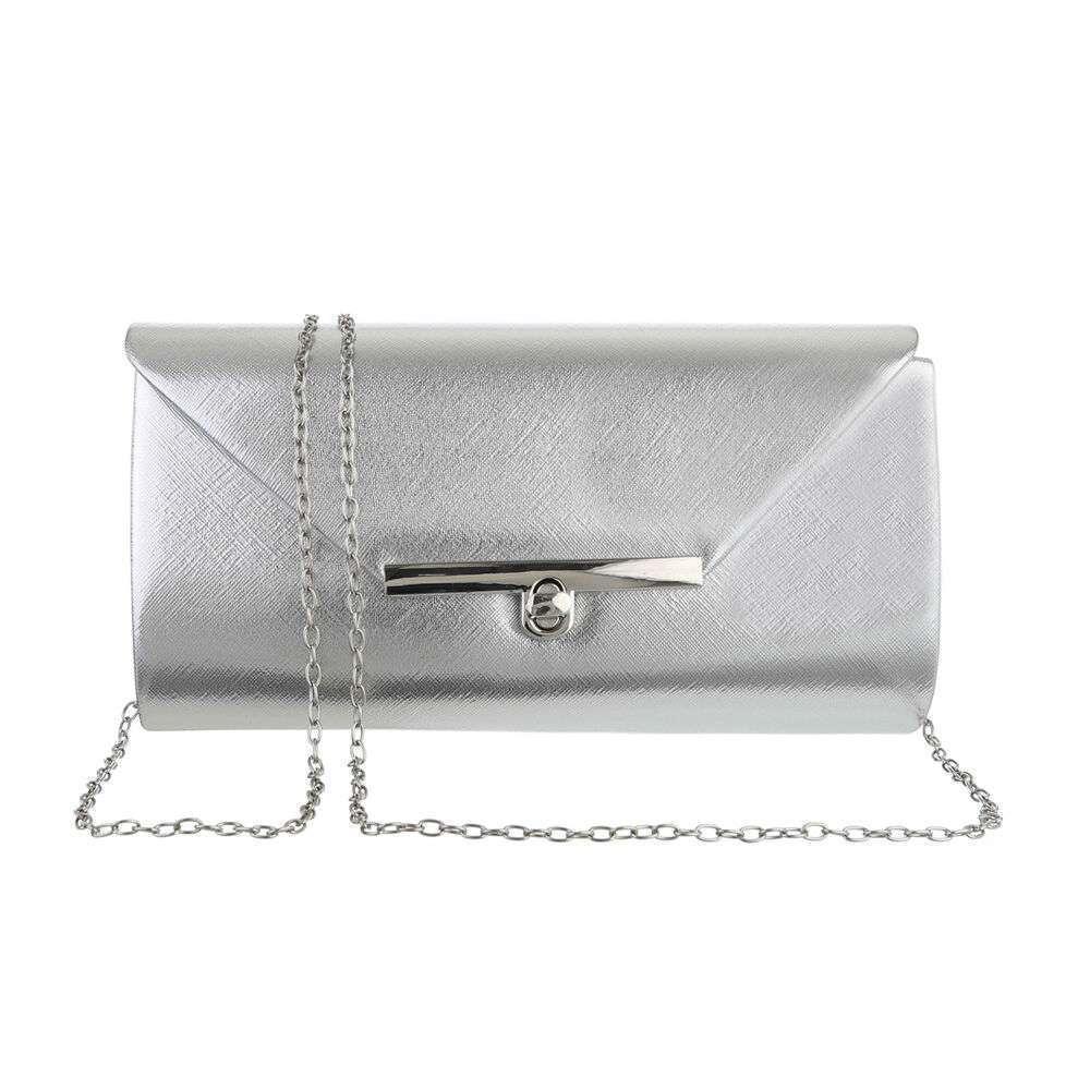 Poșetă pentru femei - argintiu