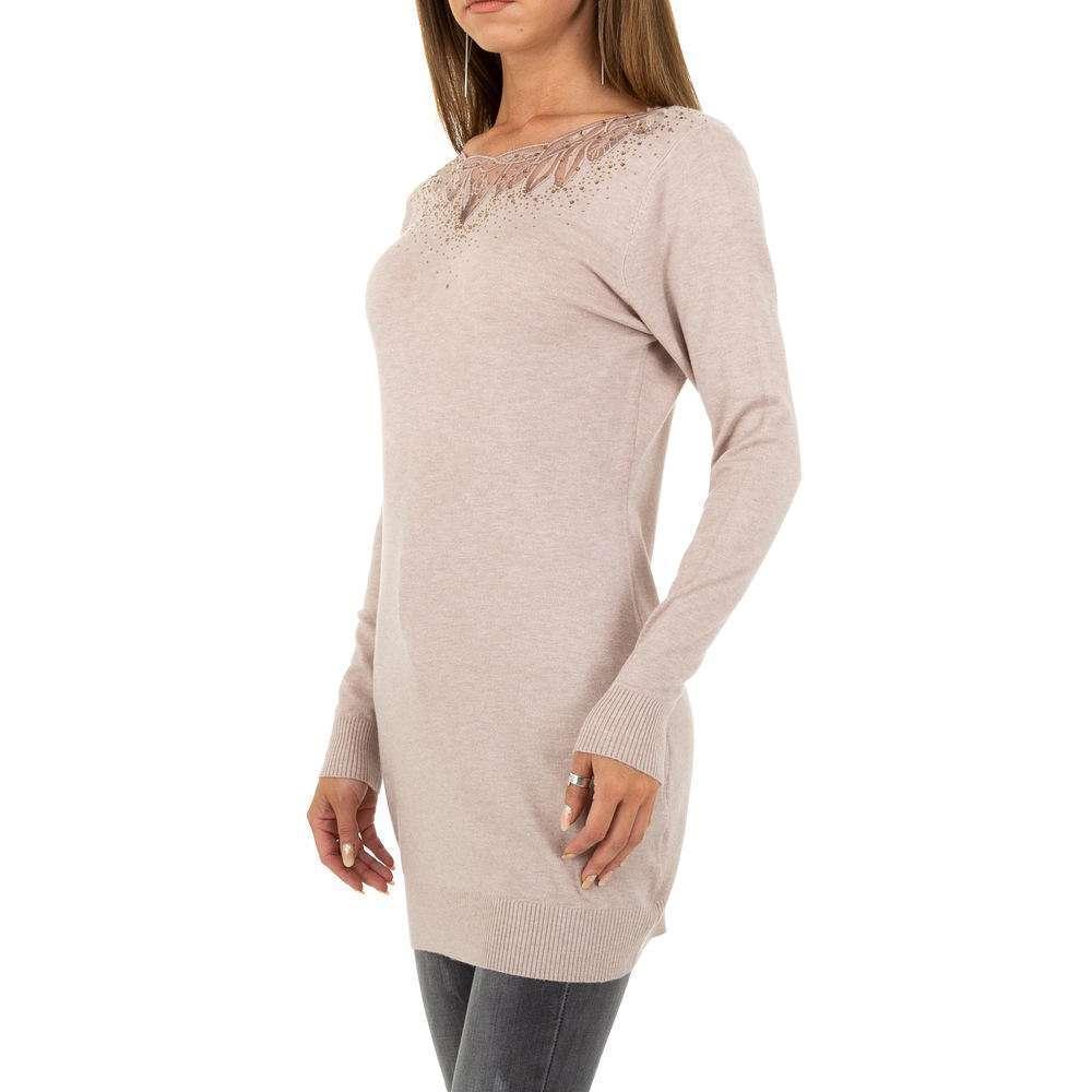 Pulover pentru femei de la Metrofive - deschis  roz - image 2