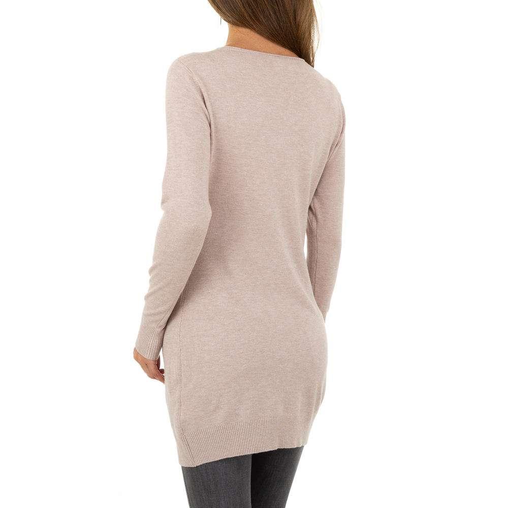 Pulover pentru femei de la Metrofive - deschis  roz - image 3