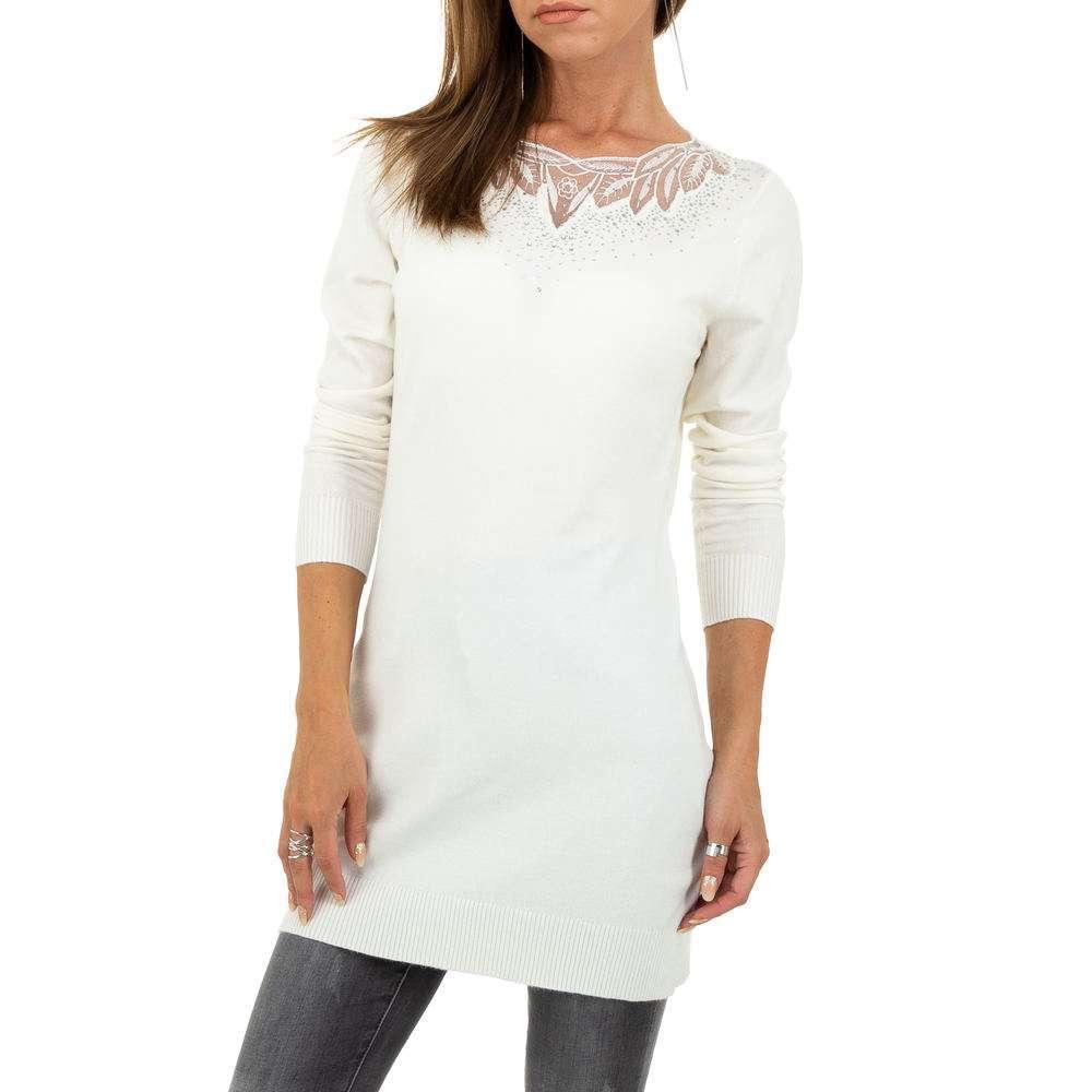 Pulover pentru femei de la Metrofive - alb
