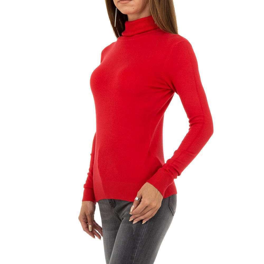 Pulover pentru femei de la Metrofive - roșu - image 2