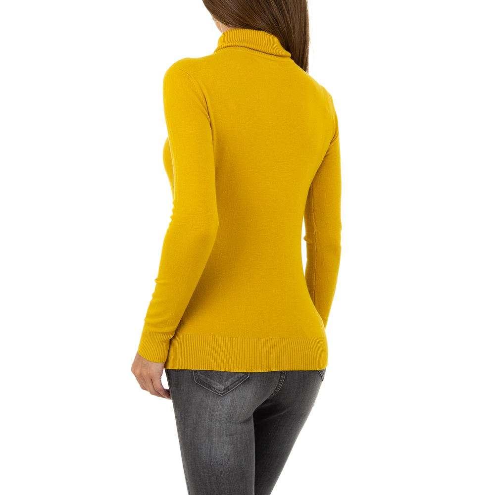 Pulover pentru femei de la Metrofive - muștar - image 3