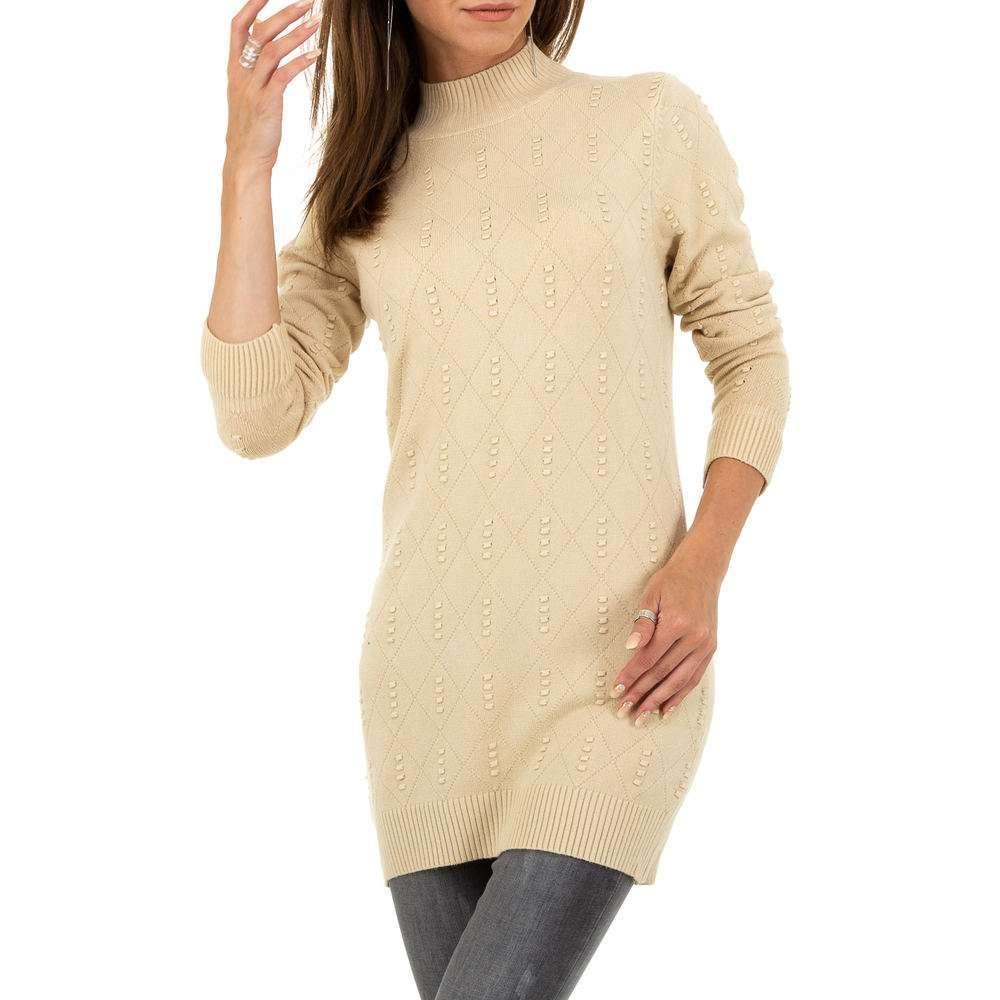 Pulover pentru femei marca Glo storye - bej