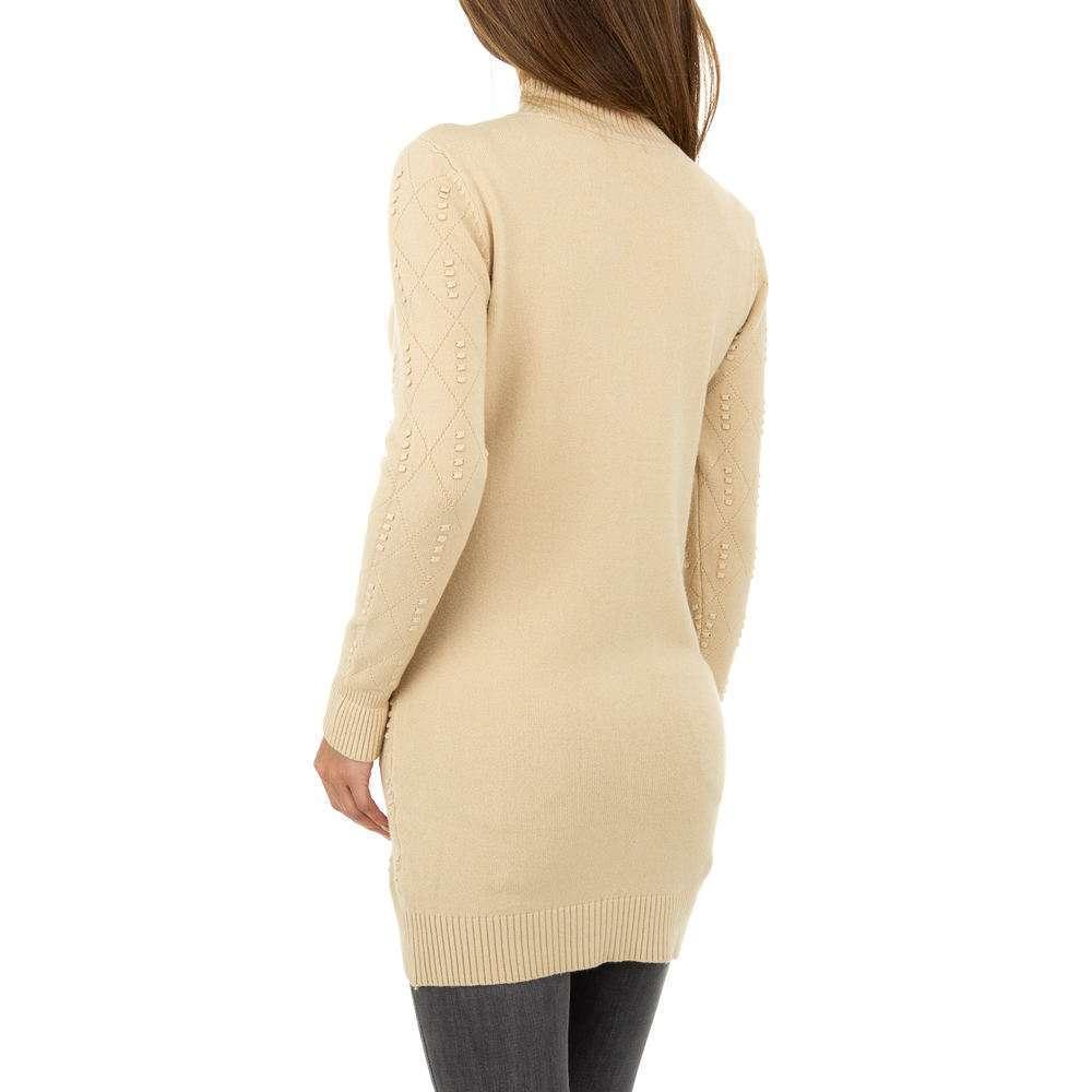 Pulover pentru femei marca Glo storye - bej - image 3