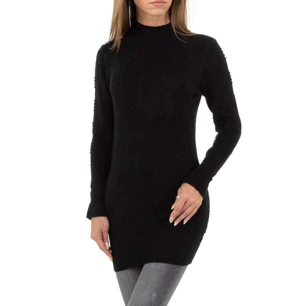 Pulover pentru femei de la Glo storye - negru - image 4