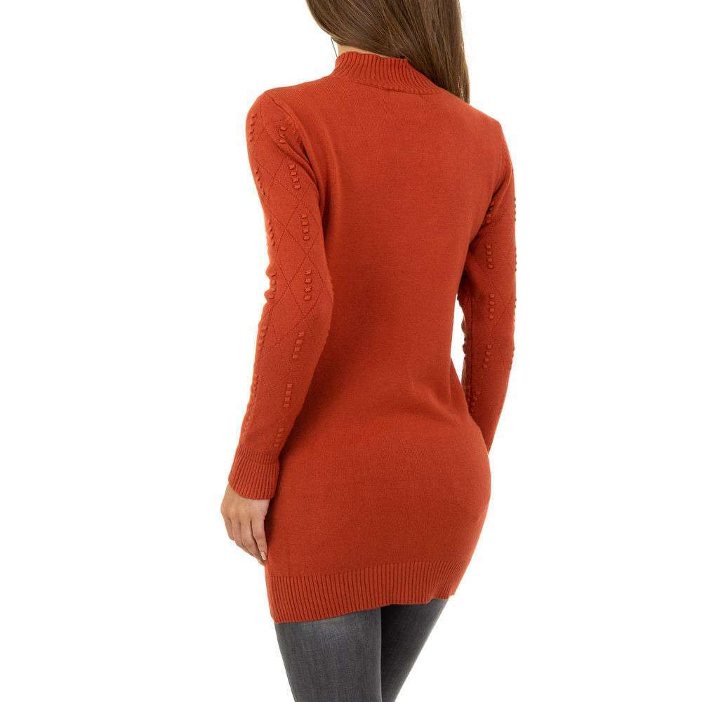 Pulover pentru femei de la Glo storye - roșu - image 3