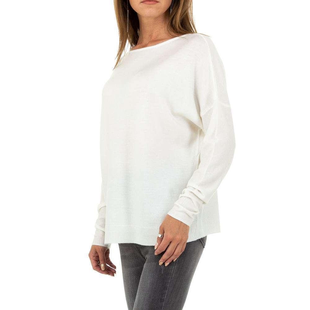 Pulover pentru femei de Glo storye Gr. O singură mărime - alb - image 2