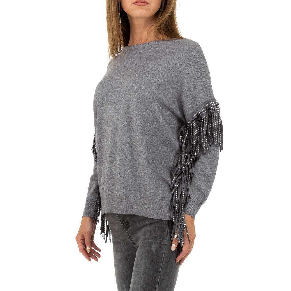Pulover pentru femei marca Glo storye - gri - image 2