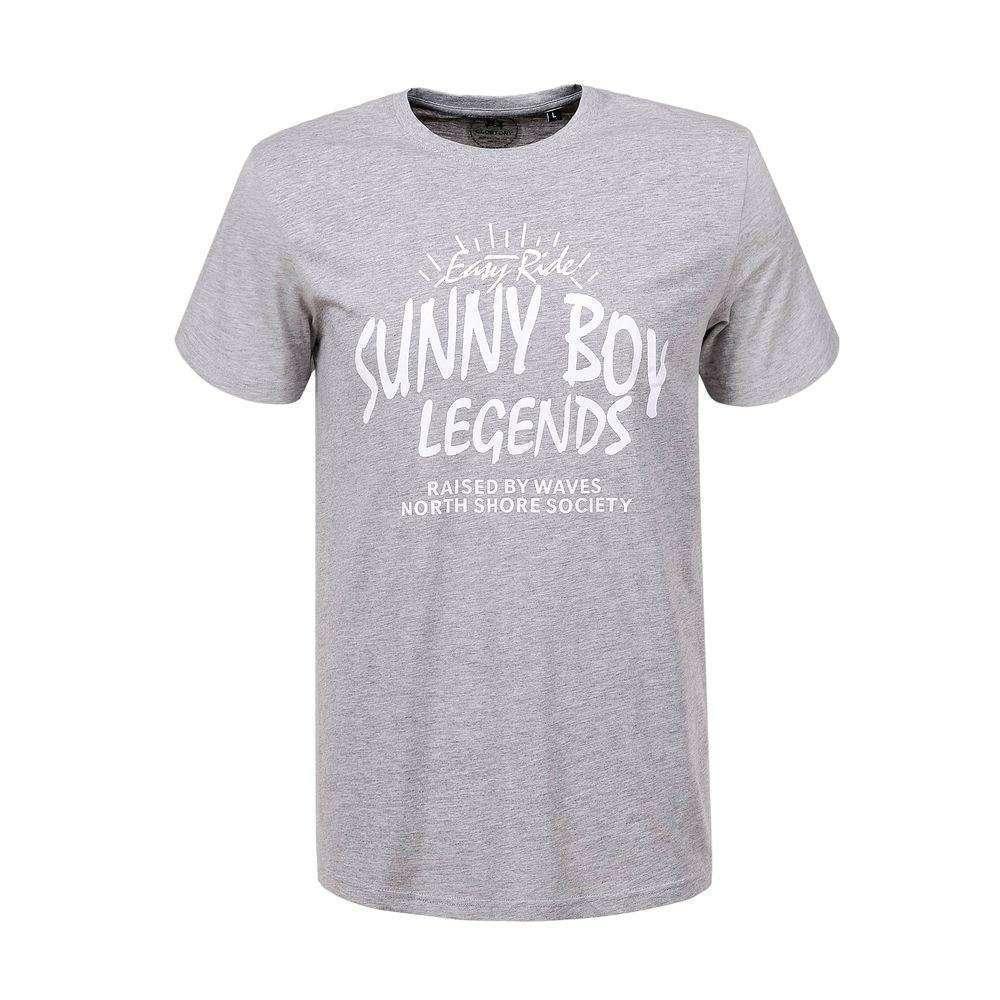 Tricou bărbătesc de la Glo Story - gri