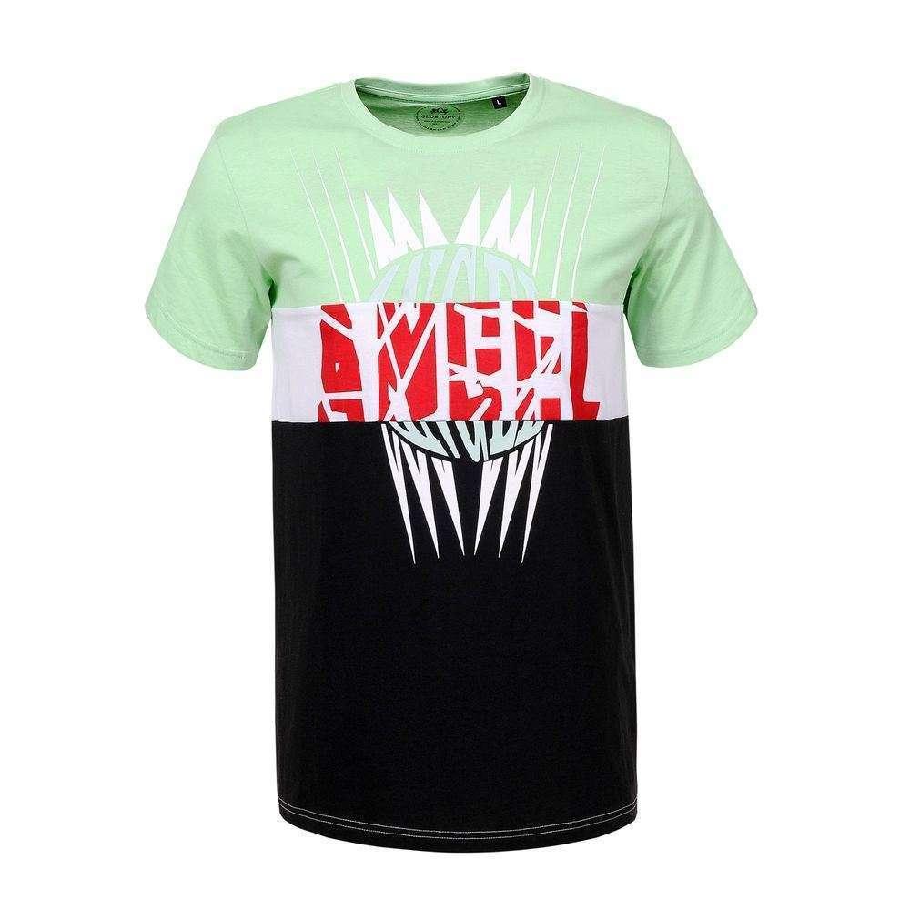 Tricou bărbătesc marca Glo storye - verde - image 1