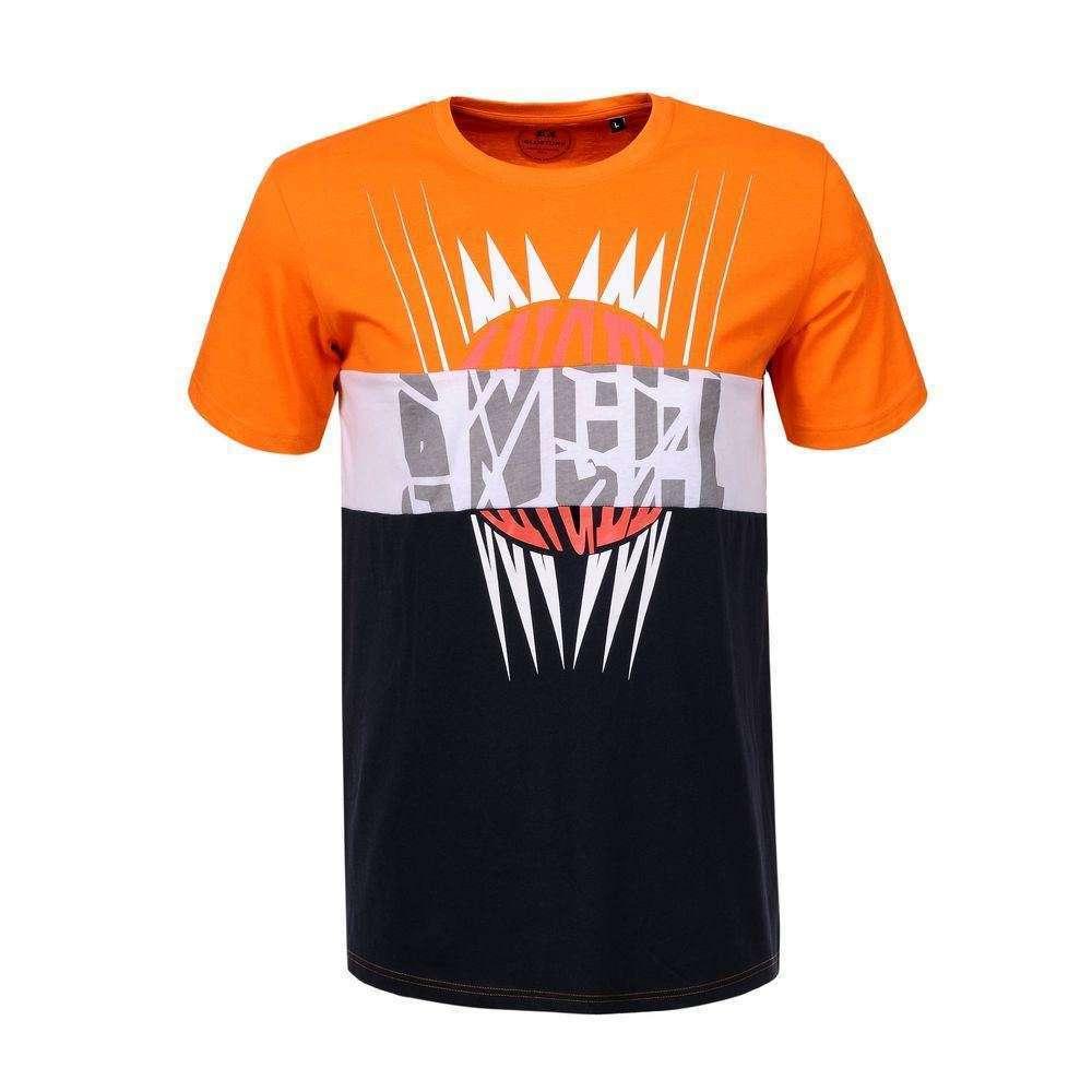 T-shirt homme par Glo Story - orange
