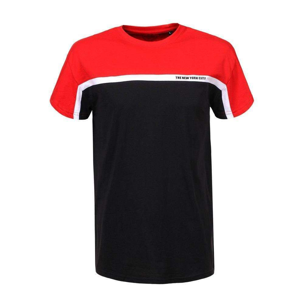 Tricou bărbătesc marca Glo storye - roșu - image 1