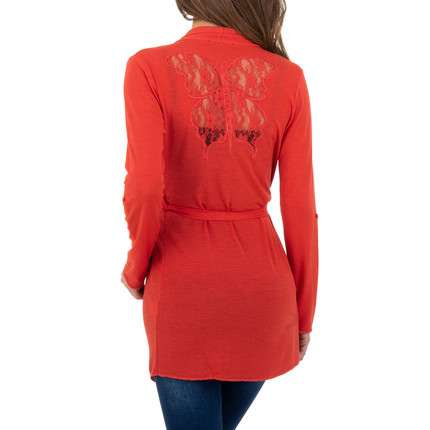 Damen Jacke von Miss Li Gr. One Size - red