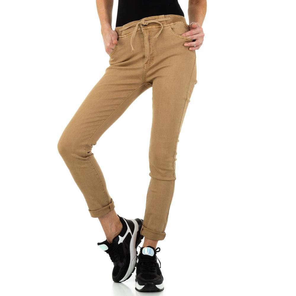 Blugi de dama de la Daysie Jeans - bej - image 1