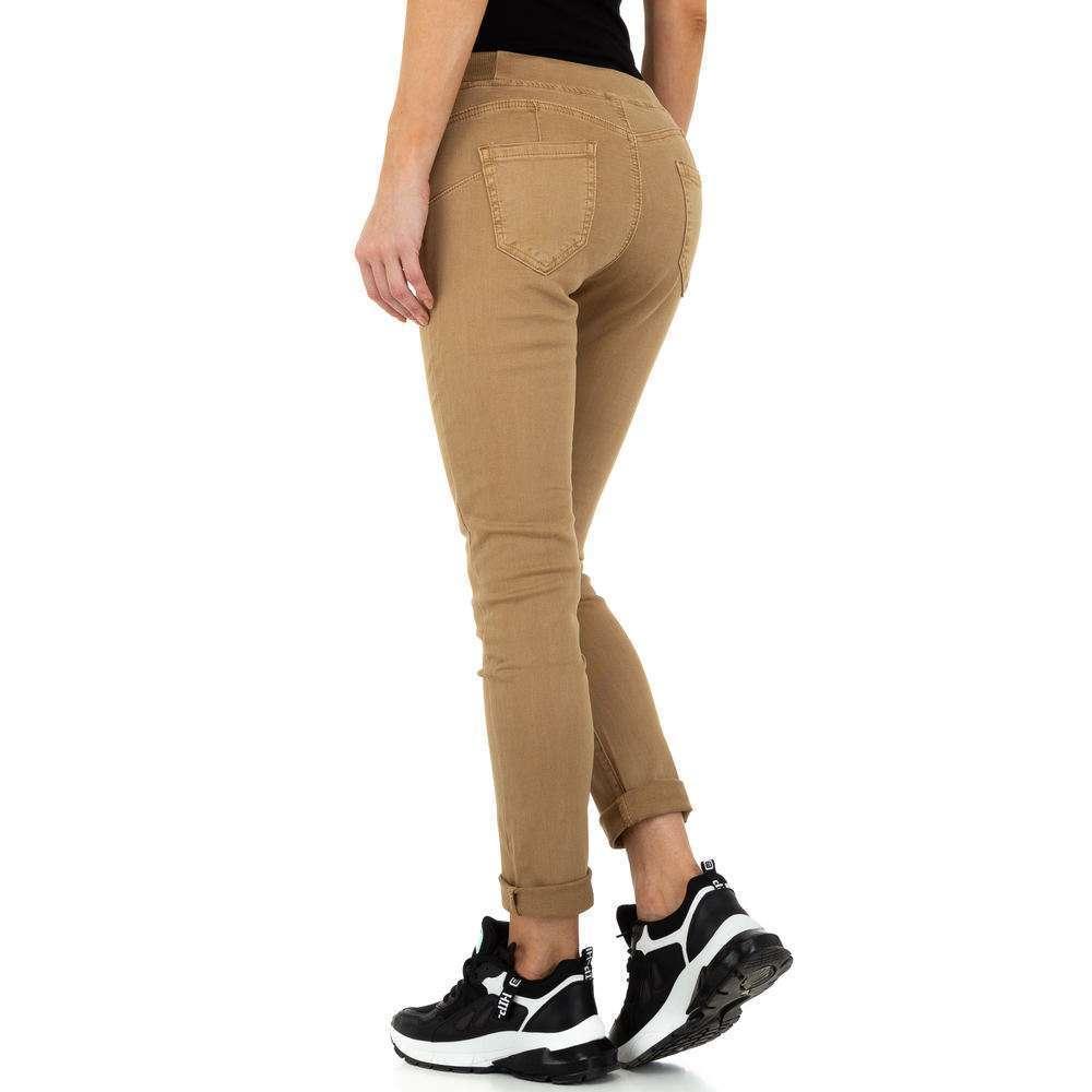 Blugi de dama de la Daysie Jeans - bej - image 3