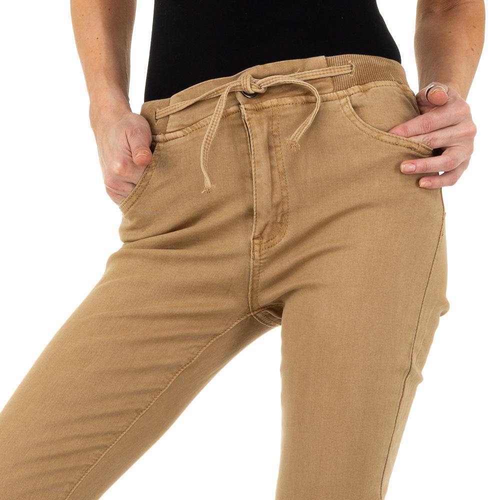 Blugi de dama de la Daysie Jeans - bej - image 4