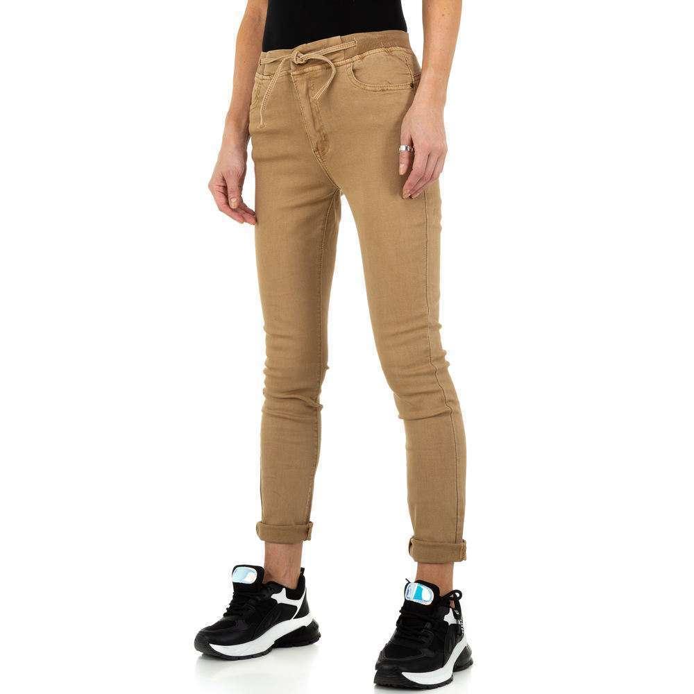 Blugi de dama de la Daysie Jeans - bej - image 5