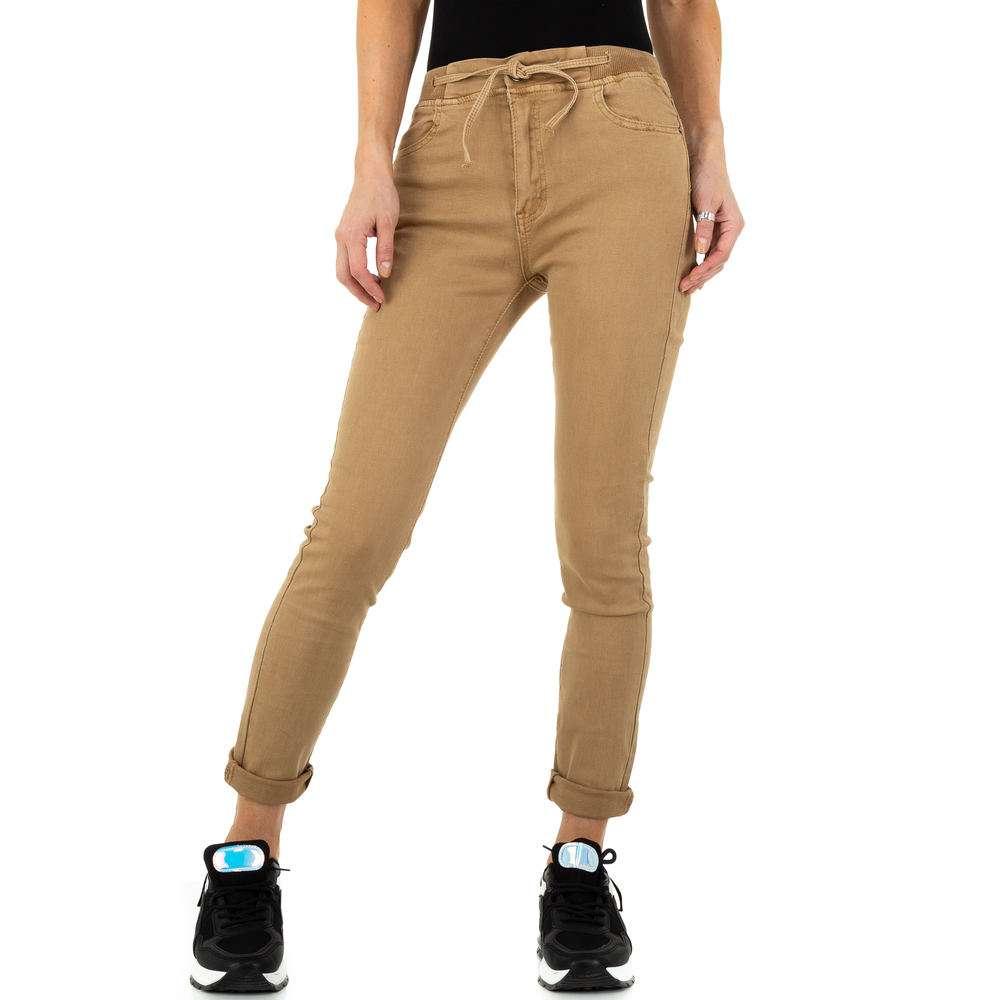 Blugi de dama de la Daysie Jeans - bej - image 6