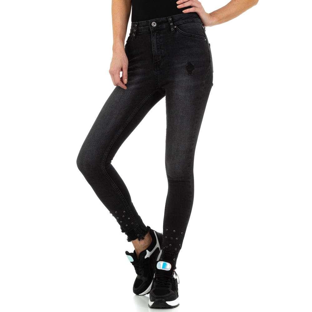 Blugi de dama de la Daysie Jeans - negru - image 1