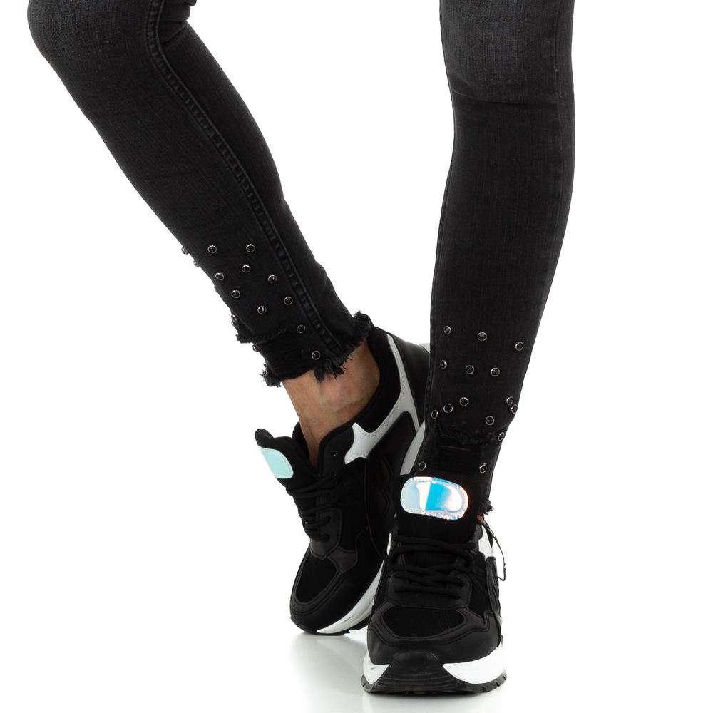 Blugi de dama de la Daysie Jeans - negru - image 4