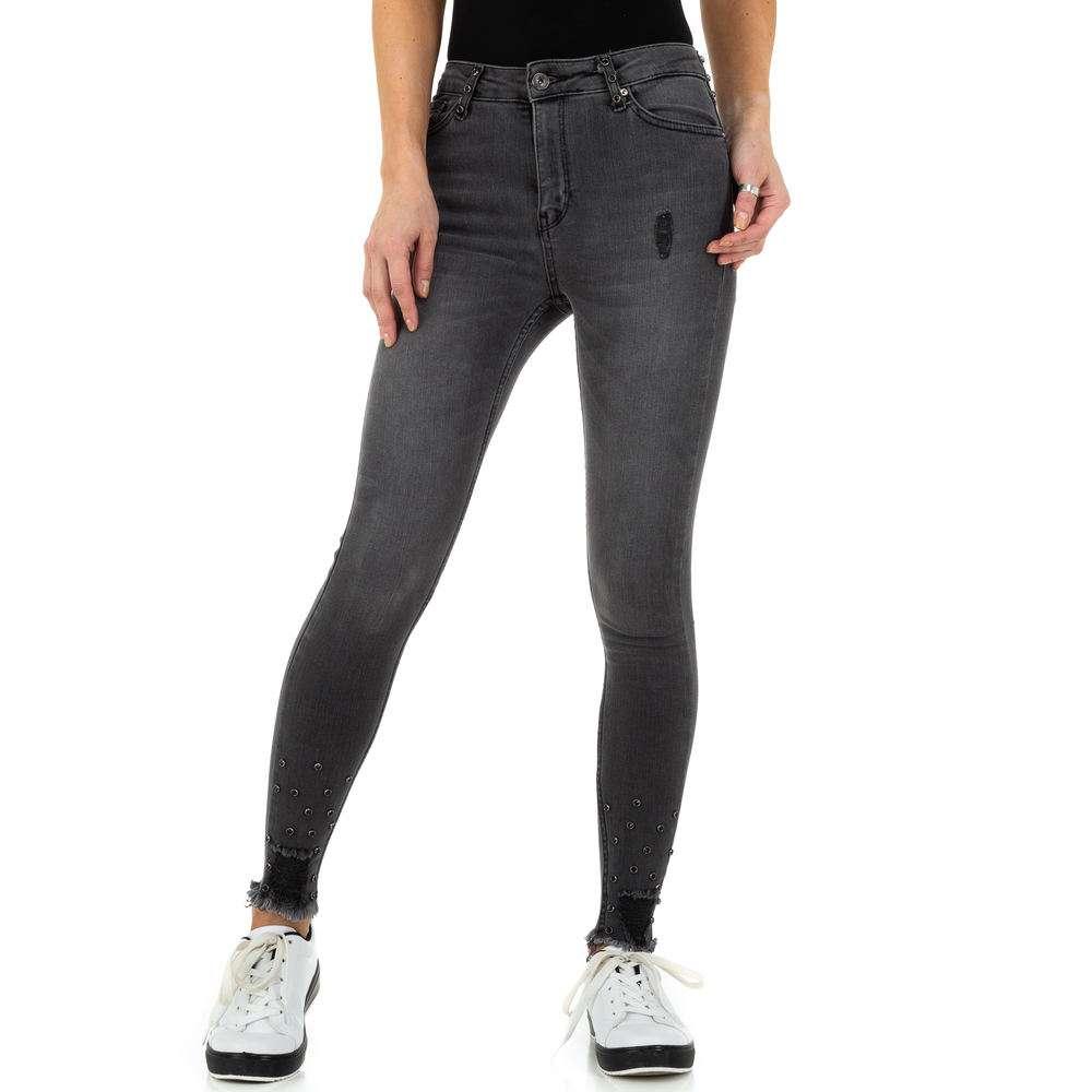 Blugi de dama de la Daysie Jeans - gri - image 1
