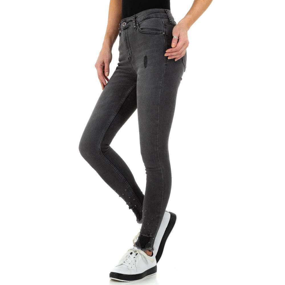 Blugi de dama de la Daysie Jeans - gri - image 2