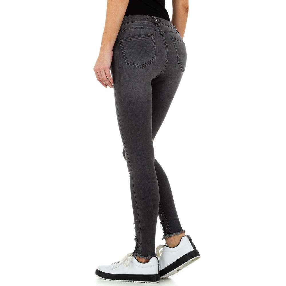 Blugi de dama de la Daysie Jeans - gri - image 3