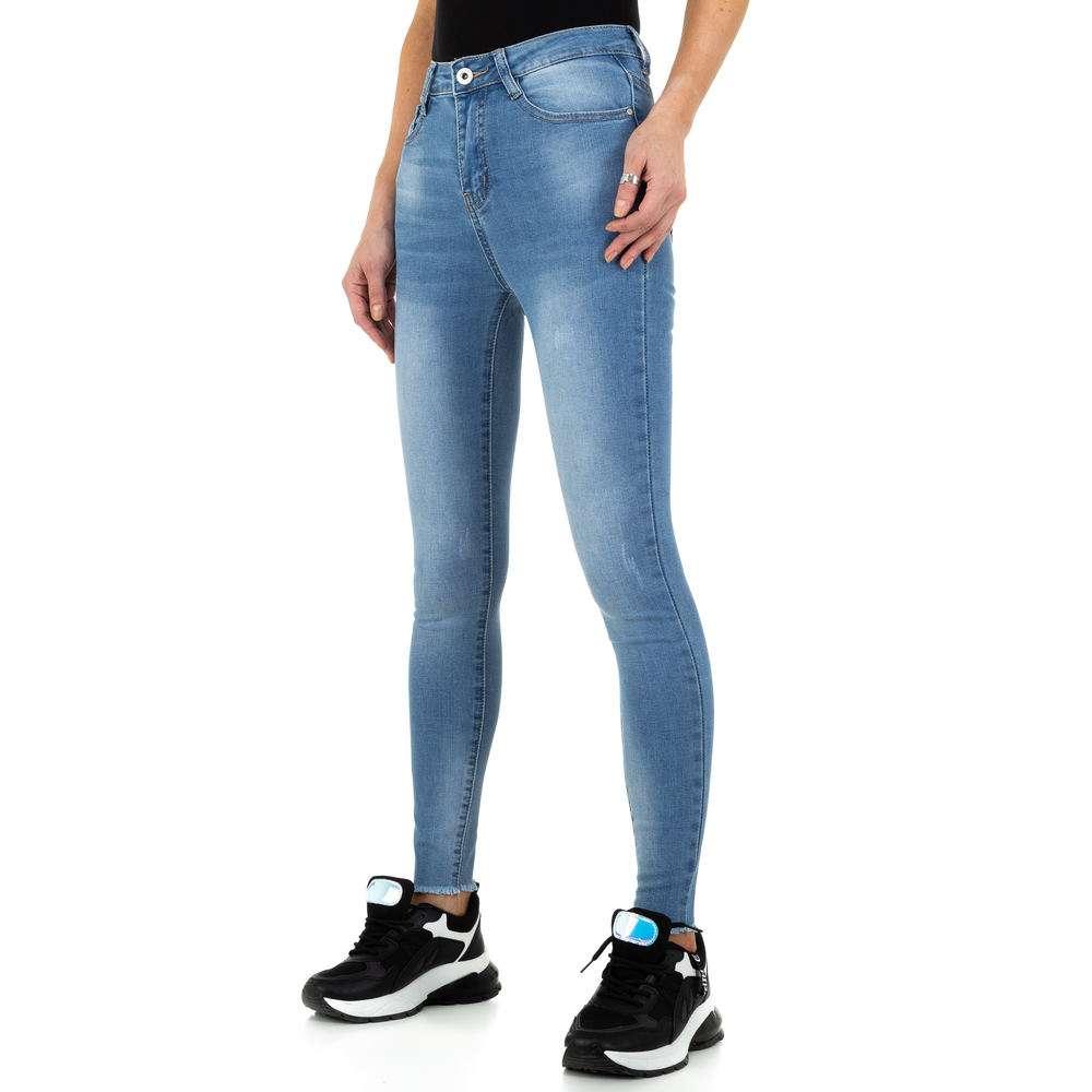 Blugi de dama de la Daysie Jeans - albastru - image 6