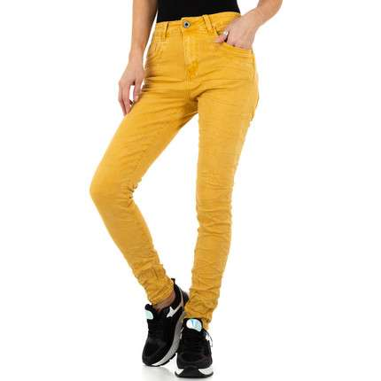 Damen Jeans von Jewelly Jeans - yellow