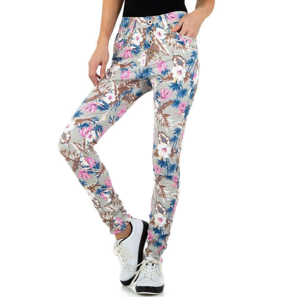 Blugi pentru femei de Jewelly Jeans - gri