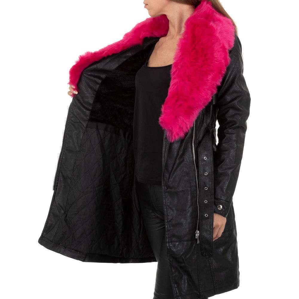 Palton de dama de la Glo storye - negru - image 5