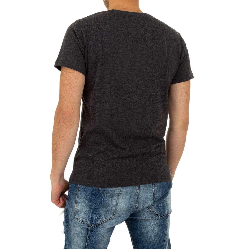 Tricou bărbătesc de la Glo Story - gri - image 3