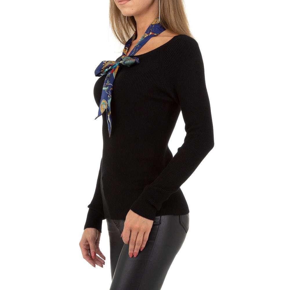 Pulover pentru femei de la Whoo Fashion Gr. O singură mărime - negru - image 2