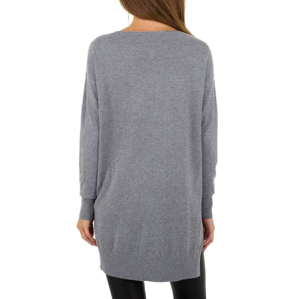 Pulover pentru femei de la Whoo Fashion Gr. O singură mărime - gri - image 3