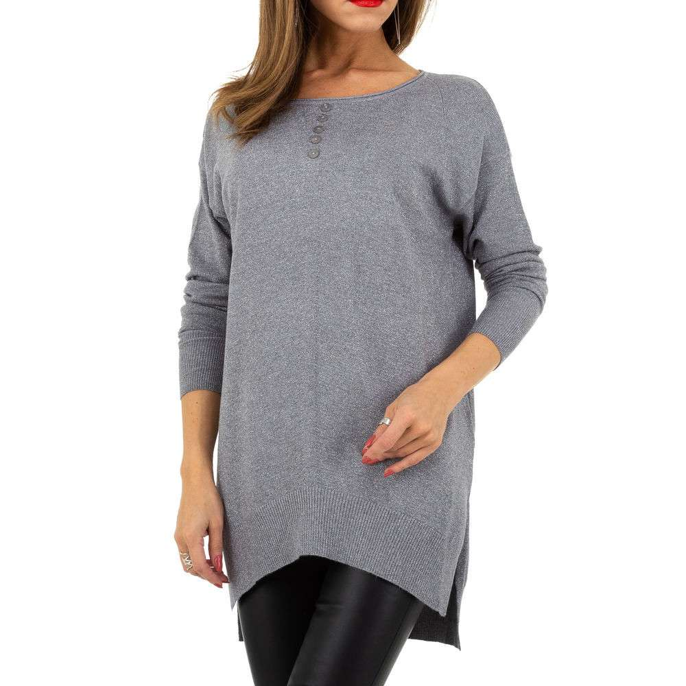 Pulover pentru femei de la Whoo Fashion Gr. O singură mărime - gri - image 4