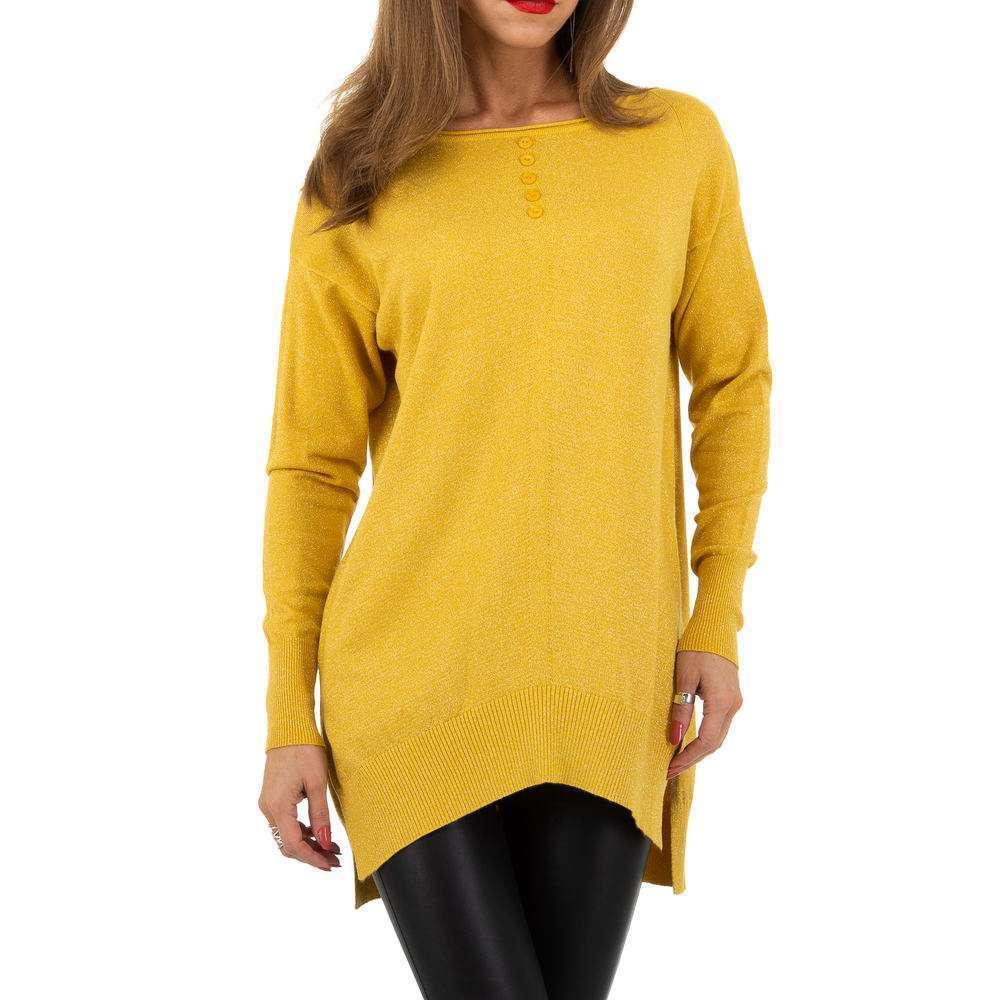 Pulover pentru femei de la Whoo Fashion Gr. O mărime - galben