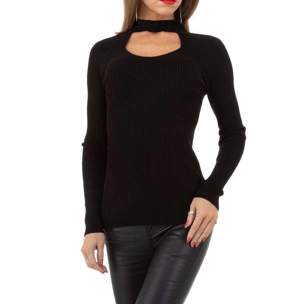 Pulover pentru femei de la Whoo Fashion Gr. O singură mărime - negru - image 1