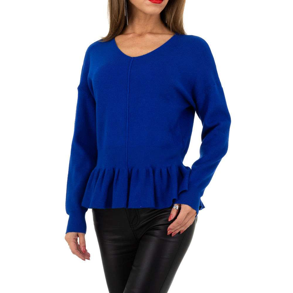 Pulover pentru femei de la Whoo Fashion Gr. O singură mărime - albastru