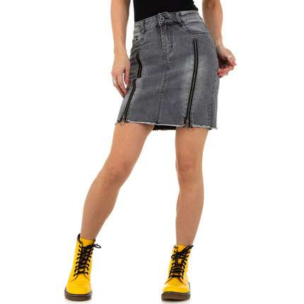 Damen Rock von Redial Denim Paris - grey