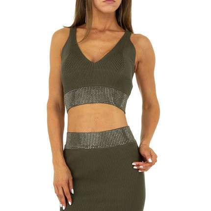 Damen Top von Drole de Copine - khaki