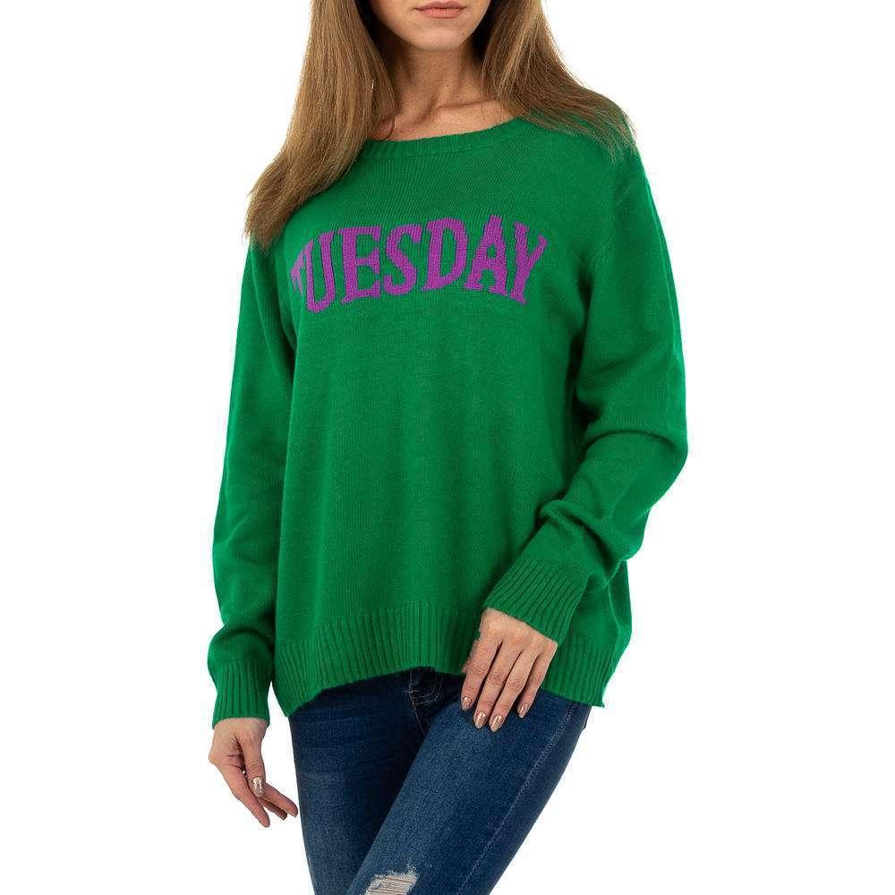 Pulover pentru femei de Glo storye Gr. O mărime - verde