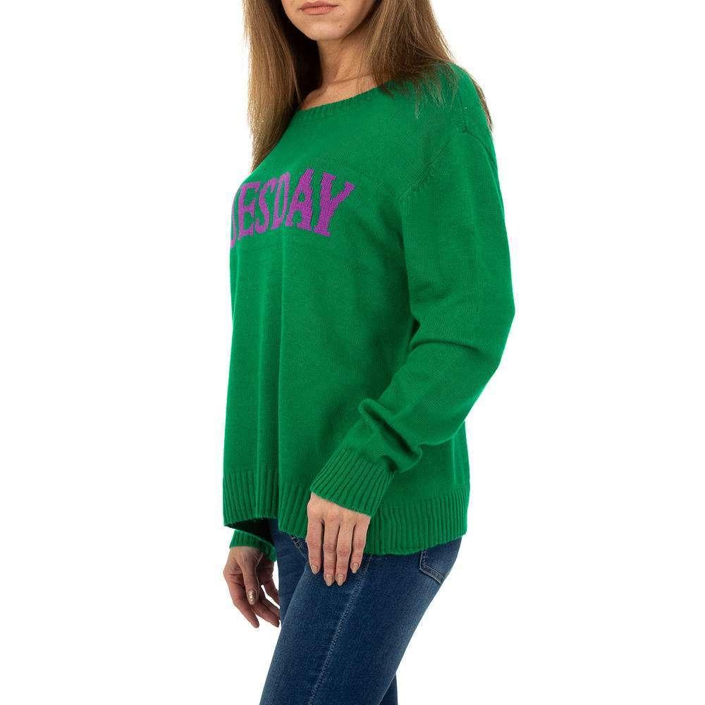 Pulover pentru femei de Glo storye Gr. O mărime - verde - image 2