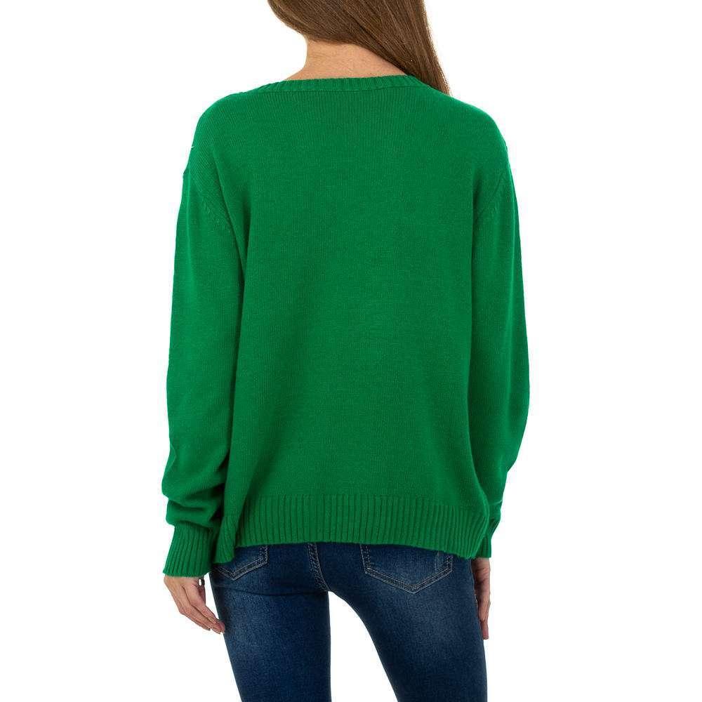 Pulover pentru femei de Glo storye Gr. O mărime - verde - image 3