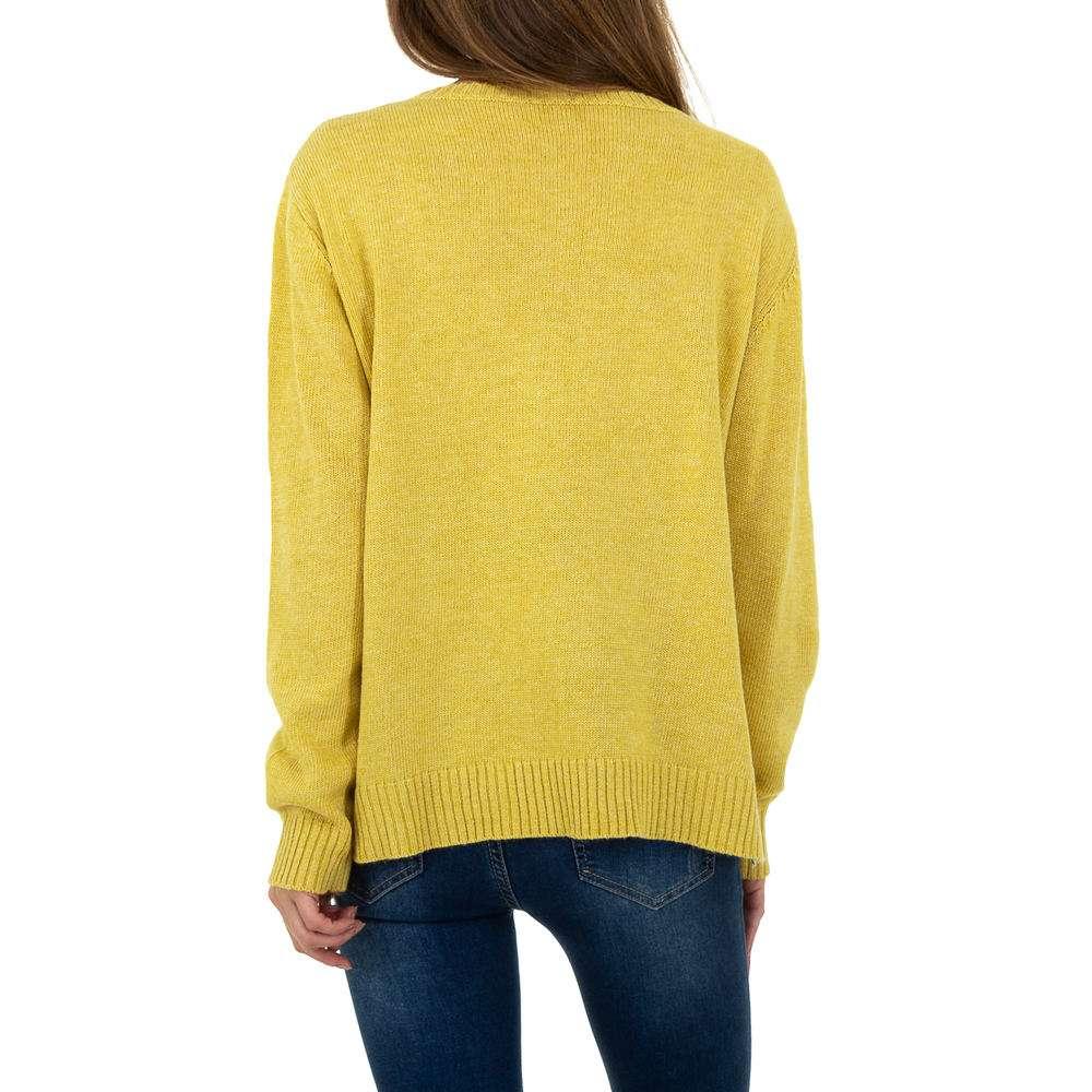 Pulover pentru femei de Glo storye Gr. O mărime - galben - image 3